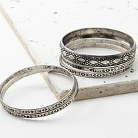 Tribal-Inspired Bangle Set