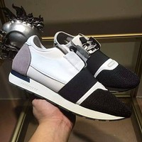 BALENCIAGA Fashion Casual Splicing Running Sport Shoes