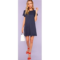 NAVY NIGHTS BABYDROLL DREAM DRESS