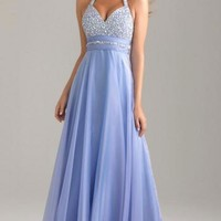 Simple Long Lavender Tailor Made Evening Prom Dress (LFNAE0001) cheap online-MarieProm UK