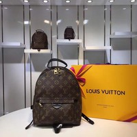 DCCK Lv Louis Vuitton Fashion Women Men Gb29610 M41561 Monogram Backpack M41561 Monogram Bags Palm Springs Backpack Mm