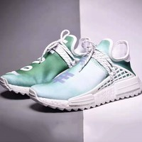 Adidas Human Race Hu NMD Trending Men Women Casual Breathable Running Sport Shoes Sneakers