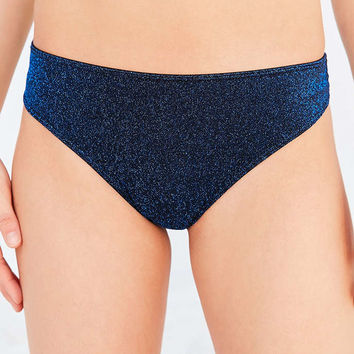 Out From Under Izzy Lurex Shimmer Thong - Urban Outfitters