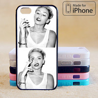 Miley Cyrus Phone Case For iPhone 6 Plus For iPhone 6 For iPhone 5/5S For iPhone 4/4S For iPhone 5C iPhone X 8 8 Plus