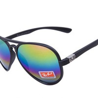 Ray Ban Cats Flash Classic RB4125 Multicolor Black Sunglasses
