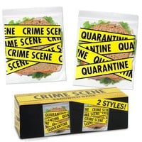 Crime Scene Sandwich Bags - Whimsical & Unique Gift Ideas for the Coolest Gift Givers