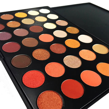 Newest 35 Colors Shimmer Matte Eye shadow Professional Makeup Eyeshadow Palette Beauty Make up Set