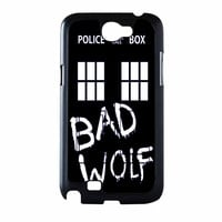 Doctor Who Tardis Bad Wolf Samsung Galaxy Note 2 Case