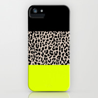 Leopard National Flag V iPhone & iPod Case by M Studio