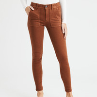 AE Ne(X)t Level High-Waisted Jegging, Cognac