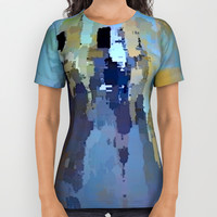 City in the Sky All Over Print Shirt by David Lee