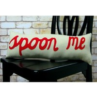 Spoon Me Pillow - Red