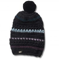 Washed Black Hodgepodge Women's Beanie