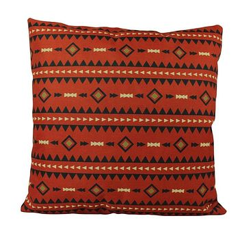 South Western Decor | Red Pattern | Pillow Cover | Boho Decor | Gift for Her | Decor Rustic | Happy Birthday | Gift for Mom | Home Decor