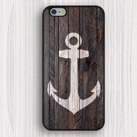 iphone 6 plus case,rubber iphone 6 case,anchor iphone 5s case,art wood anchor iphone 5c case,gift iphone 5 case,father's gift iphone case,wood anchor image iphone 4s case,personalized iphone 4 cover