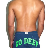 Go Deep Board Shorts-Pink
