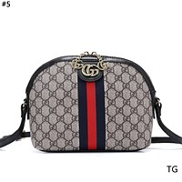 GUCCI 2019 new classic print women's large capacity shell bag #5