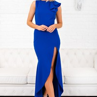 An Evening With You Dress (Royal Blue)