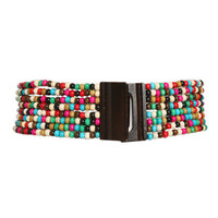 Rainbow Wood Bead Blet | Shop Accessories at Wet Seal