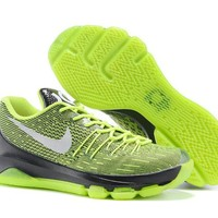 HCXX Nike Men's Durant Zoom KD 8 Flyline Basketball Shoes Green 40-46