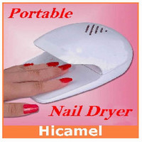 Lightweight and Compact Design Finger Dryer Toe Nail Dryer - White