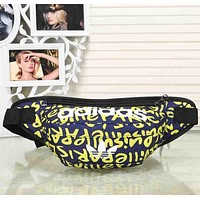 ADIDAS Woman Men Fashion Print Waist Bag Crossbody Shoulder Bag