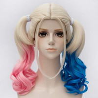 Harley Quinn Wigs Suicide Squad