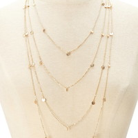 Layered Disc Necklace | Forever 21 - 1000176338