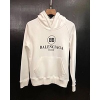 Balenciaga Women Men Hot Hoodie Cute Sweater