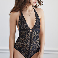 Crocheted Lace Bodysuit