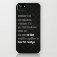 Castle (TV Show) Quotes | Kate Beckett iPhone & iPod Case by Sandi Panda | Society6