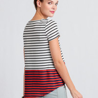 Kelsey Striped Top