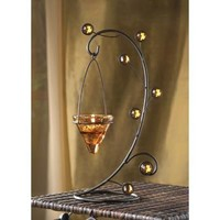 Curli-cone Tealight Candle Holder