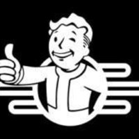 Vault Boy Fallout Logo Vinyl Decal Sticker