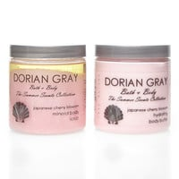 Japanese Cherry Blossom Body Butter and Mineral Body Scrub Set