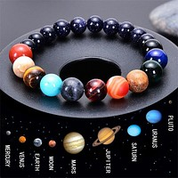The Eight Planets Bracelets Natural Stone