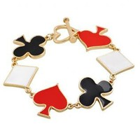 Playing Card Suits Bracelet S010453