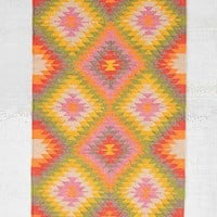 Magical Thinking Chloe Diamond Kilim Rug- Multi 3X5