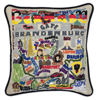 Germany Hand Embroidered Pillow