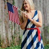 4th of July Dress - $44.99 : FashionCupcake, Designer Clothing, Accessories, and Gifts