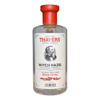 Thayers Witch Hazel with Aloe Vera Rose Petal, Alcohol Free - 12 fl oz