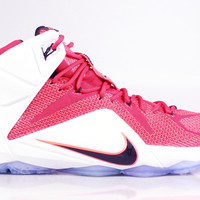 Nike Men's LeBron XII 12 Heart of a Lion Red White