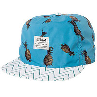 The Lush 6 Panel Hat in Blue