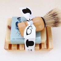 Groomsmen Gift, Mens Shaving Set, Mens Grooming Kit, Shaving Soap, Gifts for Him, Handmade Soap, Vegan Soap, Natural Soap, Mad Men Wedding
