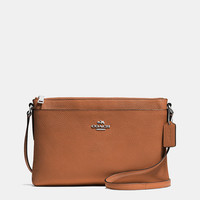Journal Crossbody in Pebble Leather