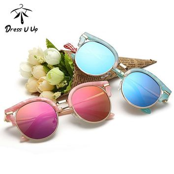 Baby Accessories Cat Eye Reflector  Sunglasses With UV 400 Protection