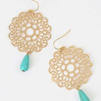 Altar'd State Floral Embrace Earrings | Altar'd State