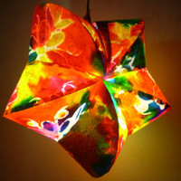 Mulberry paper Chinese style for home decorate bedroom light and home improve