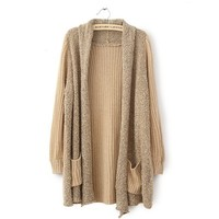 Loose Plush Knit Cardigan Sweater from chiccasesandhomeproducts