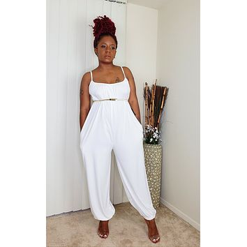 MAI TAI - Day Jumpsuit (Off-White)